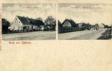 Przyborów / Tschiefer; Gruß aus Tschiefer