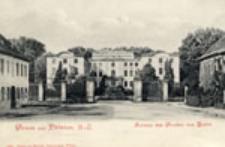 Brody / Pförten, N.-L.; Gruss aus Pförten; Schloss des Grafen von Brühl