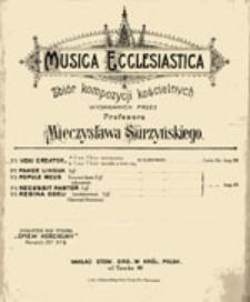 Musica Ecclesiastica: zbiór kompozycji kościelnych