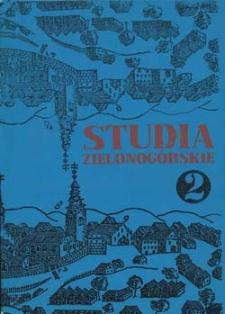 Studia Zielonogórskie: tom II