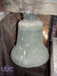 Myszęcin (kościół filialny) - dzwon (datowanie ok. 1700 r.)