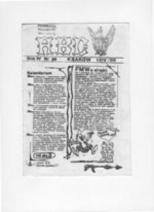 ABC: pismo międzyszkolnej rady wykonawczej F[ederacji]M[łodzieży]W[alczącej] - Nowa Huta, nr 35 (czerwiec 89)