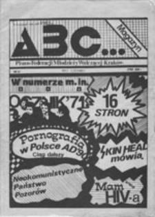 ABC magazyn: pismo Federacji Młodzieży Walczącej, nr 41 (maj-czerwiec)