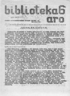 Biblioteka aro: pismo Akademickiego Ruchu Oporu we Wrocławiu, nr 1