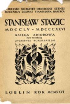 Stanisław Staszic: MDCCLV-MDCCCXXVI: księga zbiorowa z ilustracjami
