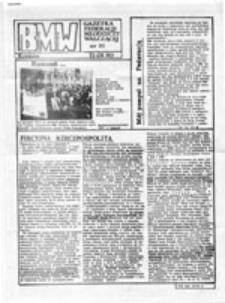 BMW: Biuletyn Młodzieży Walczącej, nr 23 (10 luty 1989 r.)