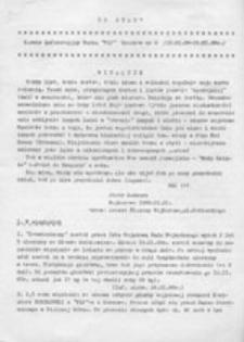 """Co było? : Serwis Informacyjny Ruchu """"Wolność i Pokój"""", nr 2 (24 XI - 02 XII 87 r.)"""