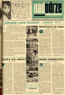 Nadodrze: dwutygodnik społeczno-kulturalny, nr 13 (20 czerwca - 3 lipca 1971)