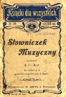 Słowniczek muzyczny