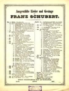 Ausgewählte Lieder und Gesänge: Op. 56 No. 2 - An die Leyer (tief)