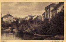 Łagów / Lagow; Am Tschetsch- See