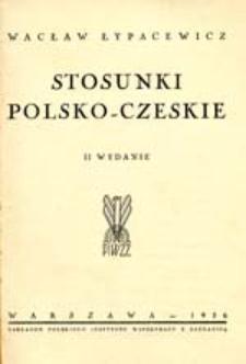 Stosunki polsko-czeskie