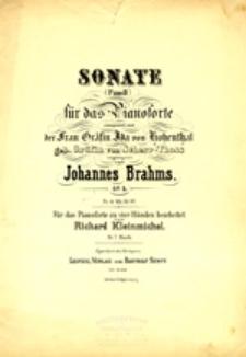 Sonate (Fmoll) für das Pianoforte; op 5