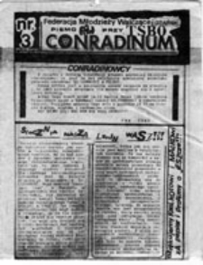 CONRADINUM: pismo FMW przy TSBO, nr 3