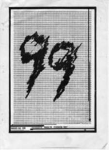 99 [dziewięćdziesiąt dziewięć]: nieregularny magazyn studentów PWST, kwiecień-maj 988