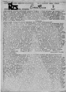 Emisariusz: nieregularne pismo społeczno-polityczne , nr 1 (1 kwiecień 1982)