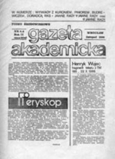 Gazeta Akademicka: pismo środowiskowe , nr 5/6 (listopad 1986)