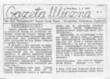 Gazeta Uliczna, nr 1 (28 IV 1988)