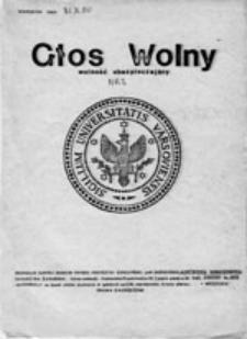 Głos Wolny Wolność Ubezpieczający, nr 7 (31.03.1981)