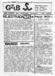 GZUB: pismo młodzieży przy Solidarności Walczącej oddz. Poznań, nr 3 (maj-czerwiec '89)