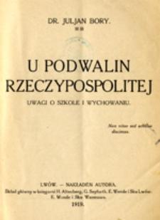 U podwalin Rzeczypospolitej