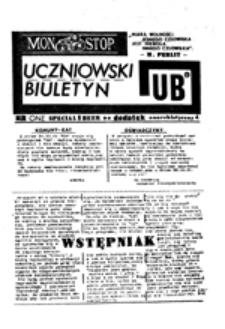 MON Stop: uczniowski biuletyn, nr one