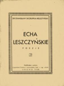 Echa leszczyńskie
