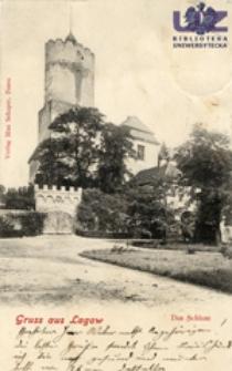 Łagów / Lagow; Gruss aus Lagow: Das Schloss