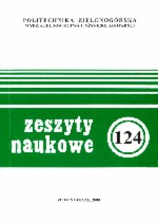 Politechnika Zielonogórska Wydział Budownictwa i Inżynierii Sanitarnej - Zeszyty Naukowe: Inżynieria Środowiska, nr 10