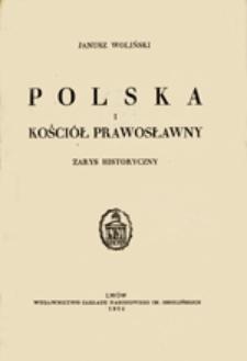Polska i kościół prawosławny: zarys historyczny