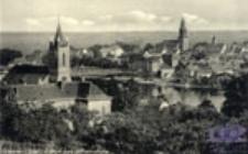 Krosno Odrzańskie / Crossen / Oder; Blick von Wilhelmshöhe