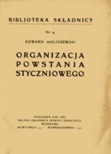 Organizacja powstania styczniowego