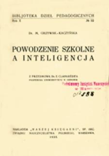 Powodzenie szkolne a inteligencja