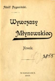 Wywczasy Młynowskie: nowele