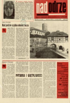 Nadodrze: dwutygodnik społeczno-kulturalny, nr 25 (3.XII.- 19.XII.1972)