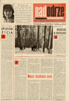 Nadodrze: dwutygodnik społeczno-kulturalny, nr 1 (14-28.I. 1973)