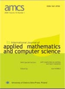 International Journal of Applied Mathematics and Computer Science (AMCS) 2010, volume 20, number 3
