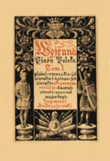 Pieśni żołnierskie i ludowo-żołnierskie Polski walczącej o wolność (w. XVIII-XIX)