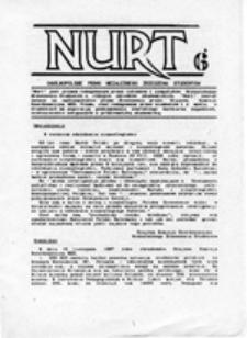 NURT: pismo studenckie, nr 1 (3.03.1989)