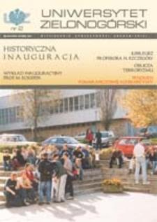 Uniwersytet Zielonogórski, 2001, nr 2 (listopad)