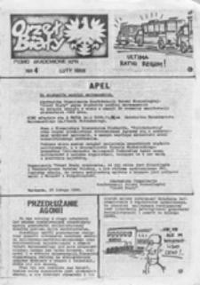 Orzeł Biały: pismo akademickie Konfederacji Polski Niepodległej, nr 6