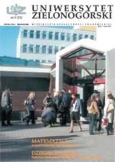 Uniwersytet Zielonogórski, 2002, nr 9 (listopad)