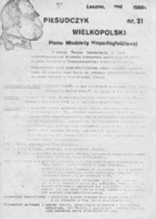 Piłsudczyk Wielkopolski: pismo młodzieży niepodległościowej, nr 24 (03.1989)