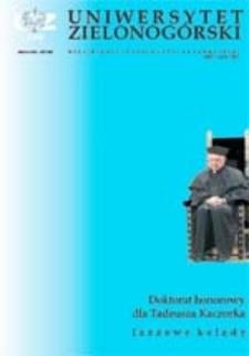 Uniwersytet Zielonogórski, 2003, nr 2 (luty)