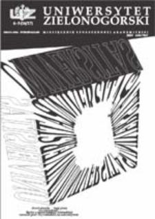 Uniwersytet Zielonogórski, 2003, nr 4/5 (kwiecień-maj)