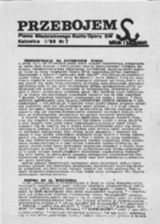 Przebojem: pismo Młodzieżowego Ruchu Oporu S[olidarności] W[alczącej], nr 6 (XII'88)