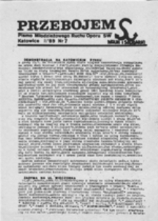 Przebojem: pismo Młodzieżowego Ruchu Oporu S[olidarności] W[alczącej], nr 13 (26.XI.89)