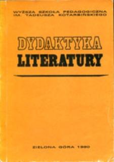Dydaktyka Literatury, t. 11