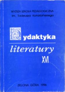 Dydaktyka Literatury, t. 16