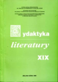 Dydaktyka Literatury, t. 19